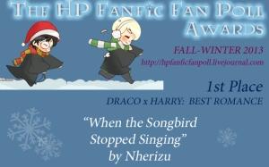 Drarry-Romance-1-WhenTheSongbird-Nherizu